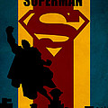 SUPERMAN Print by FHTdesigns