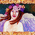 Sweet Angel Print by Genevieve Esson