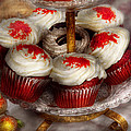 Sweet - Cupcake - Red velvet cupcakes  Poster by Mike Savad