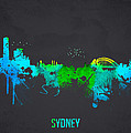 Sydney Australia Poster by Aged Pixel