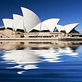 Sydney Icon Print by Sheila Smart