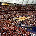Syracuse Orange Carrier Dome Poster by Replay Photos