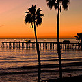 T Street Pier San Clemente California from the book MY OCEAN Print by Artist and Photographer Laura Wrede