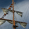 Tall Ship Mast Print by Suzanne Gaff