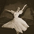 Tatiana Riabouchinska In Les Sylphides Print by French Photographer