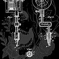 Tattoo Gun Patent Poster by Dan Sproul