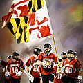 Team Maryland  Poster by Scott Melby