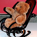 Teddy's Chair - Toy - Children Poster by Barbara Griffin