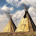 Teepees by Daniel Eskridge