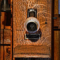 Telephone - Antique Wall Telephone Print by Lee Dos Santos