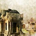 Temple of Preah Vihear Print by Catf