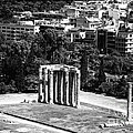 Temple of Zeus II Print by John Rizzuto
