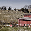 Tennessee Farmstead Print by Heather Applegate