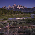 Teton Countryside Poster by Andrew Soundarajan