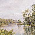 Thames Print by William Bradley