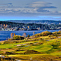 The Amazing Chambers Bay Golf Course - Site of the 2015 U.S. Open Golf Tournament Print by David Patterson