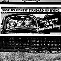 The American Way - Standard of Living Print by Benjamin Yeager