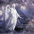 The Angel of the Lord Print by Bonnie Barry