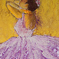 The Ballet Dancer Poster by David Patterson