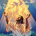 The Baptism of Jesus Poster by Jeff Haynie
