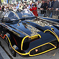 The Batmobile Print by Nina Prommer