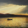 The Bay of Silence Print by Kiril Stanchev
