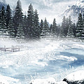 The Beautiful Gothic Winter Poster by Boon Mee
