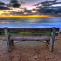 The Bench II Print by Peter Tellone
