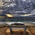 The Bench Poster by Peter Tellone