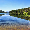 The Best Beach In Glacier National Park Panorama 2 Print by Scotts Scapes