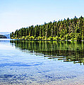 The Best Beach In Glacier National Park Panorama Print by Scotts Scapes