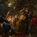 The Betrayal of Christ Print by Anthony Van Dyck