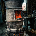 The blacksmiths furnace - Industrial Poster by Gary Heller