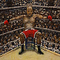 The Boxer Print by Richard Wandell
