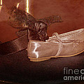 The Bridesmaid's Shoes Print by Terri  Waters