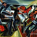 The Budapest String Quartet Print by PG REPRODUCTIONS