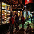 The Chess Forum Print by Lee Dos Santos