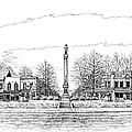 The Confederate Monument Print by Janet King