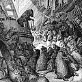 The Council Held by the Rats Print by Gustave Dore