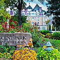 The Crescent Hotel in Eureka Springs Arkansas Print by Gregory Ballos