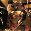 The Crowing with Thorns Poster by Caravaggio