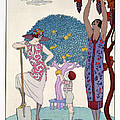 The Earth Poster by Georges Barbier