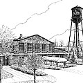 The Factory in Franklin Tennessee Print by Janet King