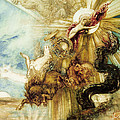 The Fall of Phaethon Poster by Gustave Moreau