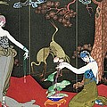 The Fashion for Lacquer Print by Georges Barbier