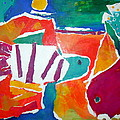 The Fish in the Sea Print by Diane Fine