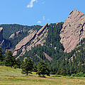 The Flatirons Poster by Bob Hislop