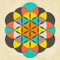 The Flower of Life 2 Poster by Jazzberry Blue