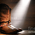 The Found Boots Print by Olivier Le Queinec