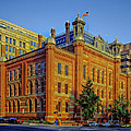 The Franklin School - Washington DC Print by Mountain Dreams